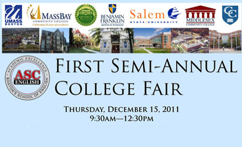 First Semi-Annual College Fair