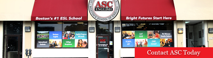 ASC English School office from the outside