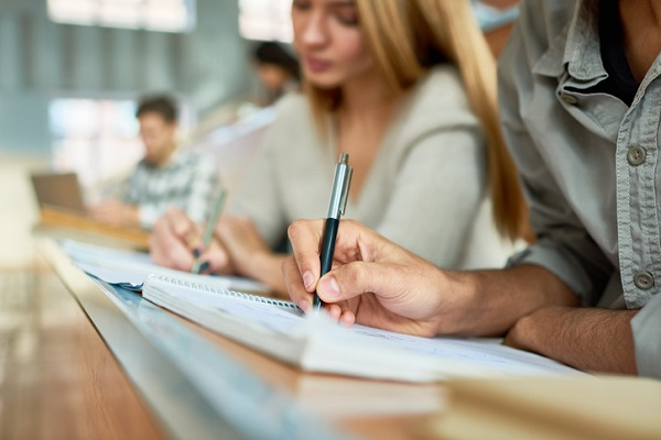 Academic English is often used in a professional setting like work or school